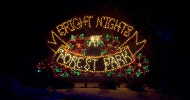 Visite o Bright Nights e aprecie as maravilhosas luzes de Natal